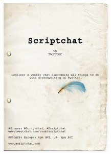 #Scriptchat-Diane-Drake-Twitter-Romantic-Comedy