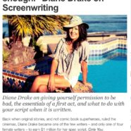 """""""Don't draw the line at good enough"""" – My new interview with Creative Screenwriting.com"""